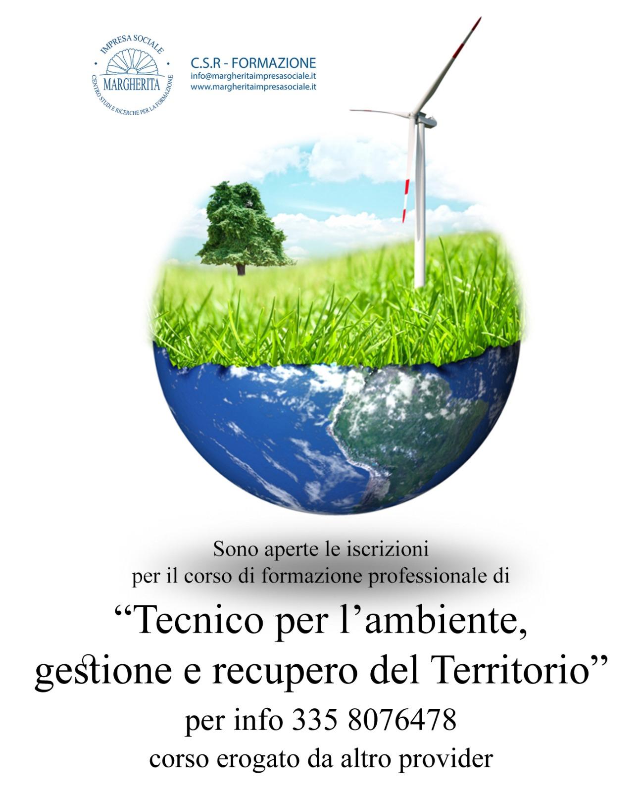 Tecnico Per L Ambiente Gestione E Recupero Del Territorio Margherita Società Cooperativa Sociale